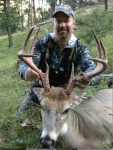 Dan Schmidt Deer from Wyoming Bowhunt
