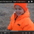 This girl's reaction to her first deer is priceless!