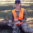 Destination Whitetail co-host Brittney Glaze.