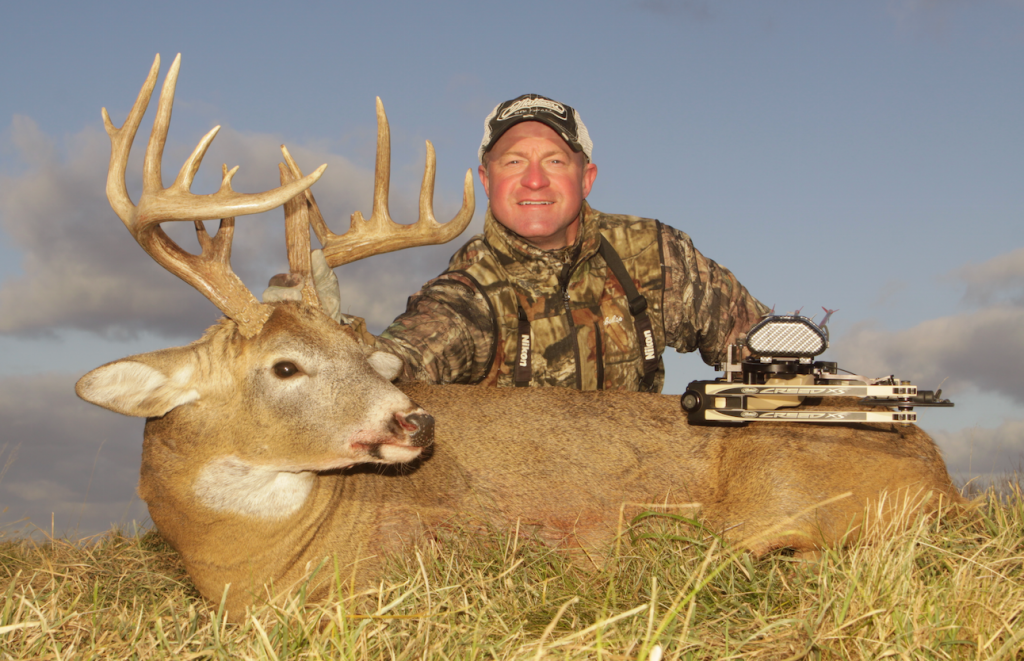 Mark Kayser is a diehard hunter who pursues deer and predators whenever possible. By doing the latter, he helps deer populations and also learns more about the land for winter whitetail hunting.