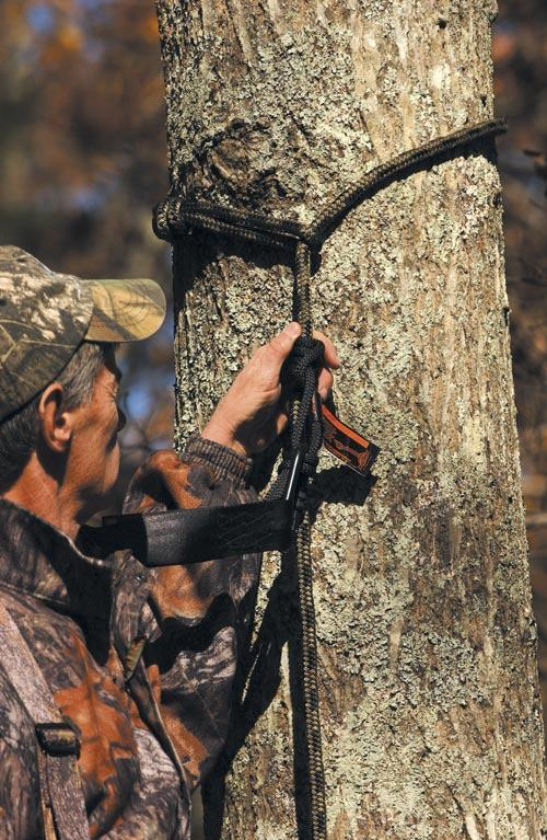 Better tether systems, rope lifelines, Prussic knots and other improvements have been a benefit to hunters. (Photo: Seat o' the Pants)