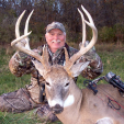Stan Potts studies aerial photos religiously and puts boots on the ground to target big bucks.