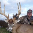 Steve Bartylla has managed land and hunted throughout the United States, targeting big bucks like this one.