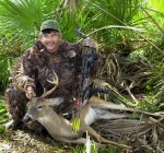 Steve Waters killed this fine Everglades buck a few years ago during the archery season.
