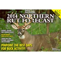 Hunt the prime white-tailed deer rut days this fall using the 2014 Deer & Deer Hunting Northern Rut Forecast. It's the perfect resource to ensure you'll be in your stand for the heart of the whitetail rut.