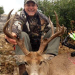 Ted shot this big buck in Texas. Learn more on his Facebook page.