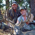 Uncle Ted with a super blacktail buck from a hunt several years ago in California. Wow!
