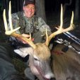 Yowza! What a cool buck!