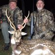 Ted and Kenny with a cool Axis buck!