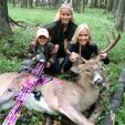 Shemane, Sasha and Caeden are proof of the deerhunting passion fires!