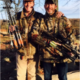 Ted and his son, Fleetwood, enjoy hunting and the outdoors as do all of the Nugent family.