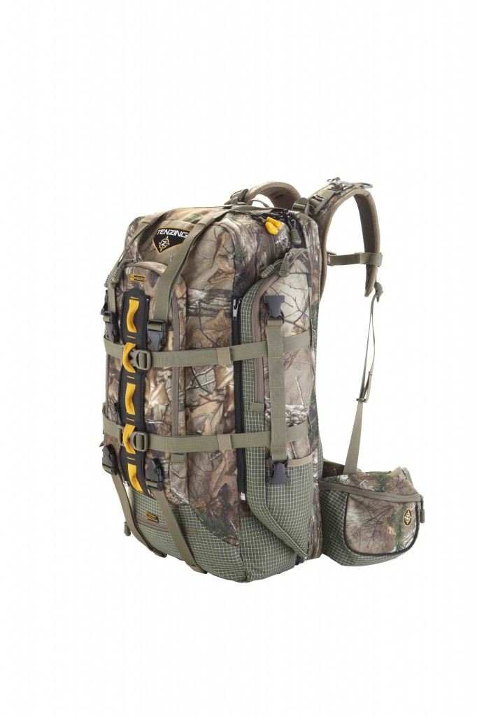TZ4000 pack can convert to a mid-size daypack in a snap.