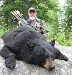 Ted Nugent loves bear hunting and got this bruin a couple of years ago. Rugsteaks!