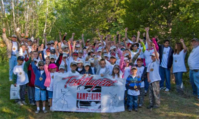 Ted Nugent Kamp for Kids is a vibrant celebration of the outdoors!