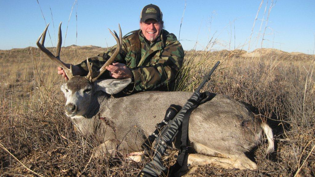 Some hunters prefer a specific caliber for long-range shots such as out west for mule deer or whitetails.