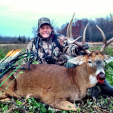 This gorgeous Michigan beast provided an 18-yard shot and ultrafantastic memories!
