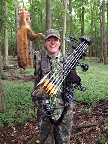 Bowhunting for squirrels definitely can put some confidence in your shooting and accuracy!