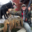 Uncle Ted enjoys all kinds of hunting, from bushytails to big bucks!
