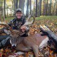 Ted Nugent loves bowhunting and gets into the woods almost every day of the season when he can, whether it's for big bucks like this or ducks and small game.