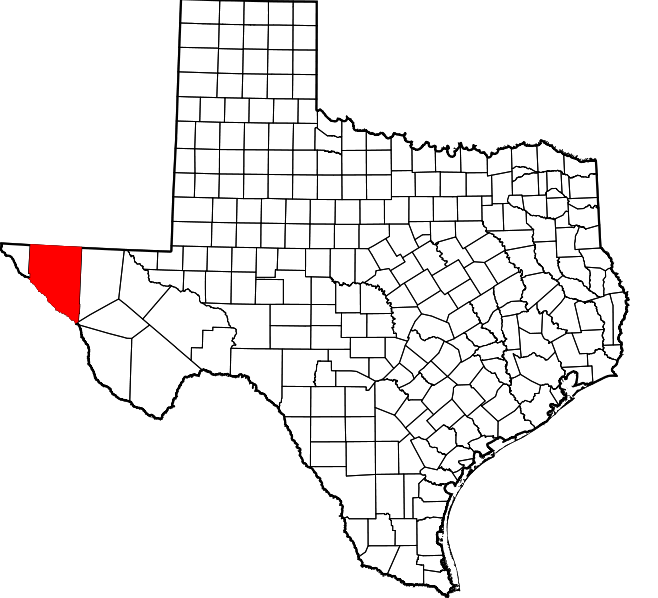 Three mule deer with CWD were found in New Mexico, located near this area (in red) in Texas. No CWD cases have been detected in Texas.