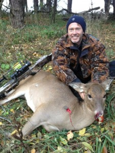 Theodore Nugent with Doe