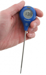 Need a quick temperature reading for your venison roast?