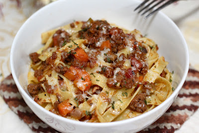 Three Meat Pasta
