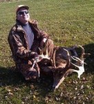 Tim Beck with his Indiana giant, which is No. 4 all-time and scores more than 300 B&C!