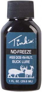 Tinks NoFreeze Buck Lure