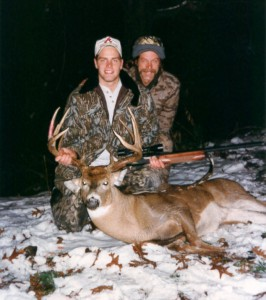 Toby Nugent First Whitetail Buck