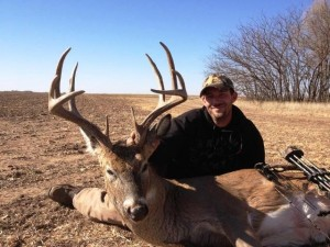 Bow and gun hunters at Tall Tine may see many deer in one morning or afternoon sit and could see the buck of their dreams, as Tony Garrett did in 2012.