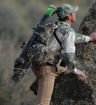 Crooked Horn Outfitters built this pack for rugged, on-the-go bow-hunters.