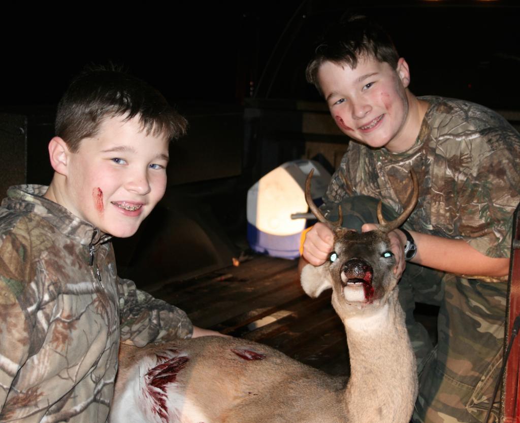 Twins First Deer