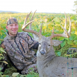 Tyler Florczak and his super Wisconsin buck he named Breath Taker.