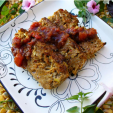 Mexican Meatloaf  is easy to make an goes well with spring or summer vegetables. (Photo: Scott Leysath/HuntFishCook.com)