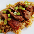 VENISON  Miso Glazed Venison Steaks