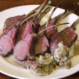 Scott Rea's rack of venison is easy to make.