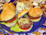 Venison Bleu Cheese Burgers are great!