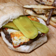Welsh Rarebit Venison Burgers offer some great flavors. (Photo: FoodforHunters.blogspot.com)