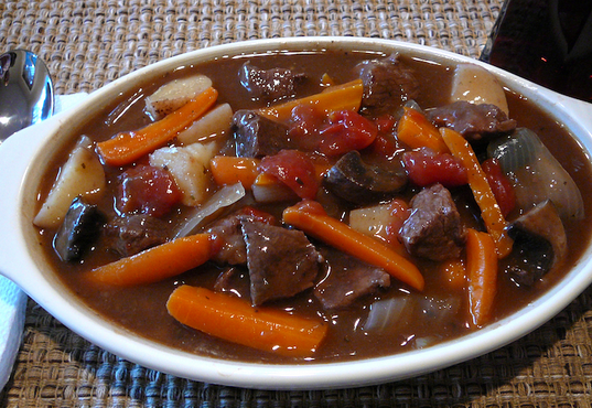 Venison Burgundy Stew CanCooker