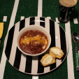 Venison Chili is great anytime of the year! (Photo: HeHuntsSheCooks.com)