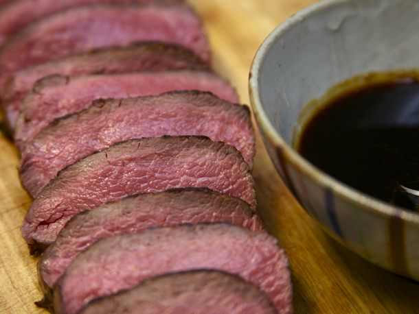 Slow-Roasted Spice-Rubbed Venison Loin
