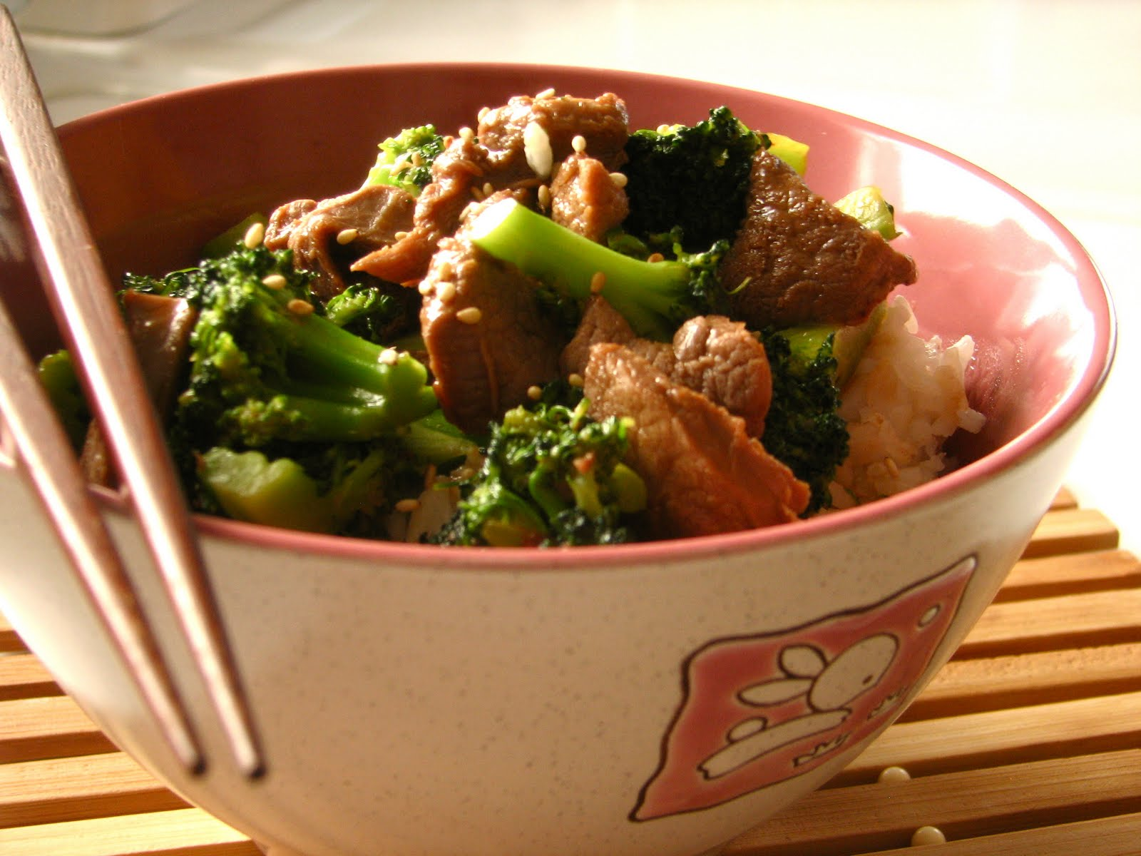 Venison and Broccoli stirfry