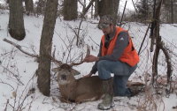 Working Class Whitetails: Smokepole Giant in the Snow