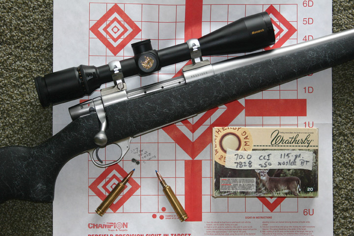 Weatherby Vanguard MOA 257Wby Mag