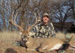 Willie Hettinger of Montana loves bowhunting for big bucks.