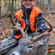 Wyatt Reinhardt killed a monster buck that any New Hampshire deer hunter would be proud of! The 8-pointer weighed 212 pounds. Congrats!
