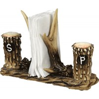 Antler napkin holder.