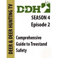 Deer and Deer Hunting TV episode on treestand safety