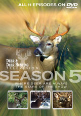 Deer & Deer Hunting TV Season 5 DVD